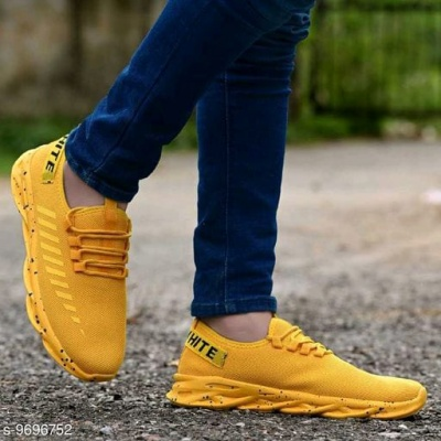 CASUAL SPORT SHOES YELLOW
