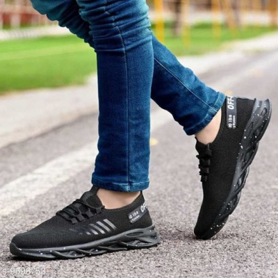 CASUAL SPORT SHOES BLACK