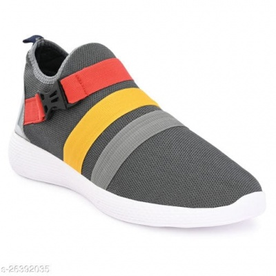 FASHIONABLE GREY SNEAKERS