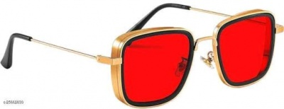 casual sunglasses in red