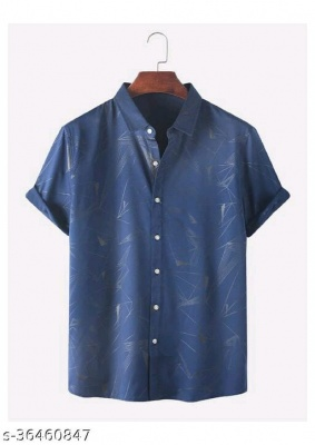 SHIRTS PRINTED IN BLUE